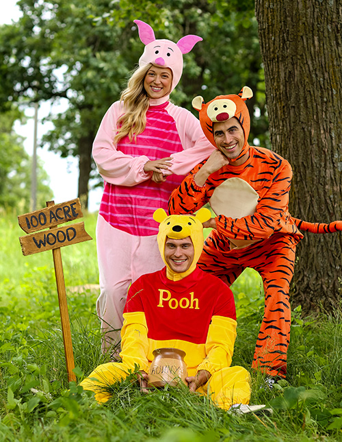 Winnie the Pooh Group Costumes