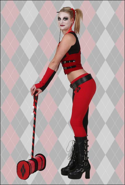 Harley Quinn Mallet Balance