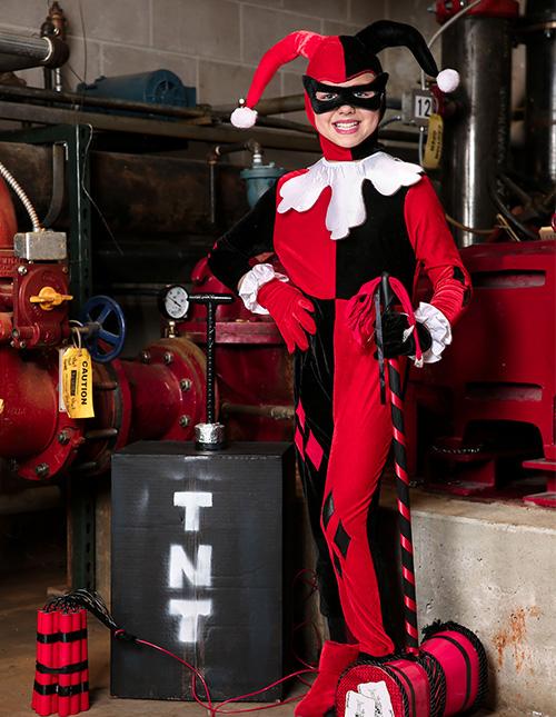Girls' Harley Quinn Costume