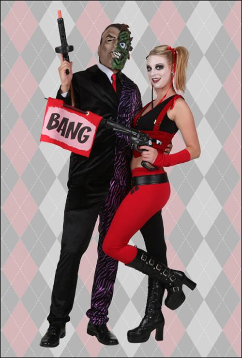 Halloween Joker And Harley Quinn Costumes.Harley Quinn Costumes For Kids Women S Harley Quinn Halloween Costumes