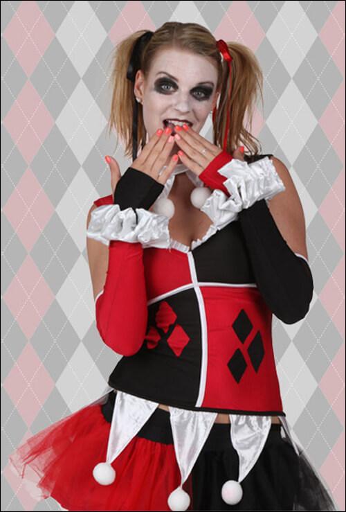 Harley Quinn Ruffles