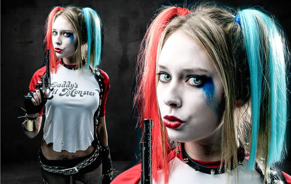 Suicide Squad Harley Quinn  sc 1 st  Halloween Costumes & Harley Quinn Costumes for Kids Woman