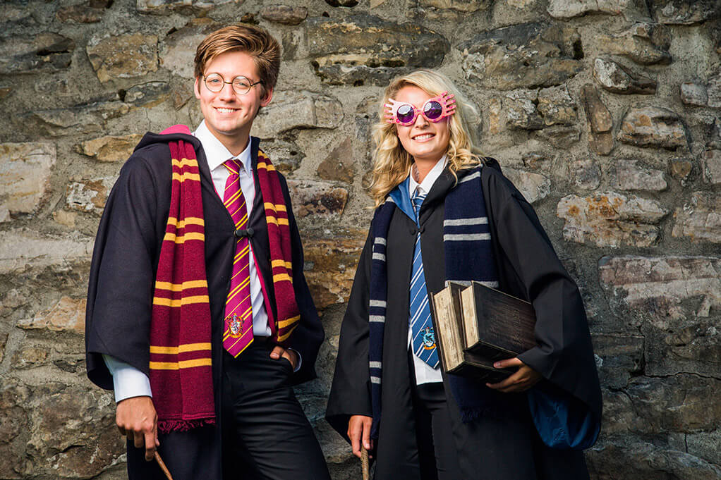 Harry Potter and Luna Lovegood