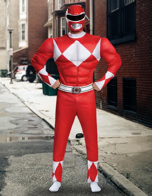 Red Power Rangers Costume