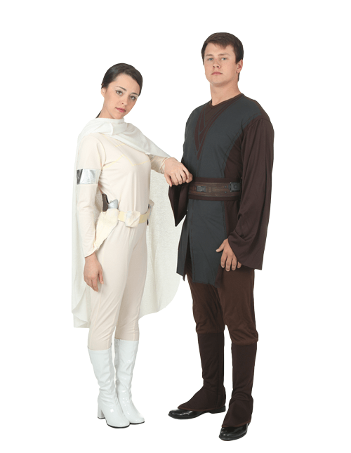 Padme and Anakin Couples Costumes