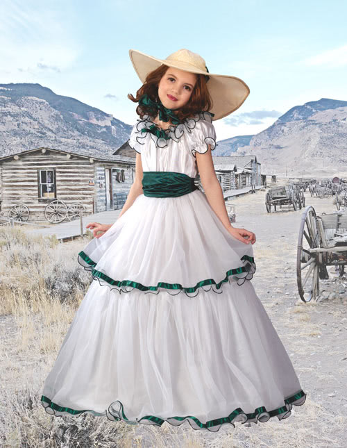 Girls Southern Belle Costume