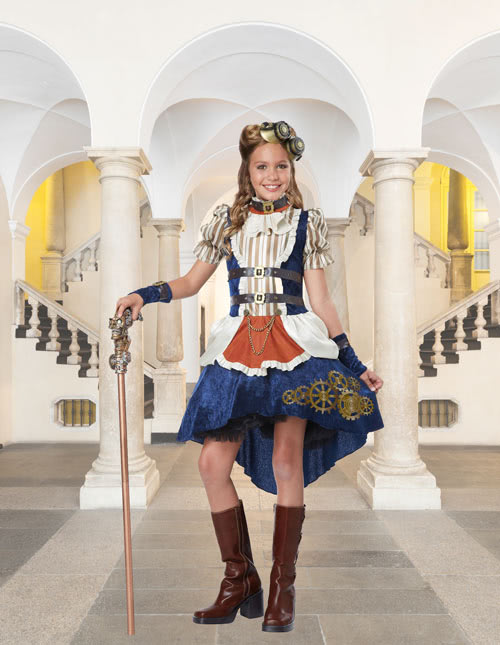 Girls Steampunk Costume