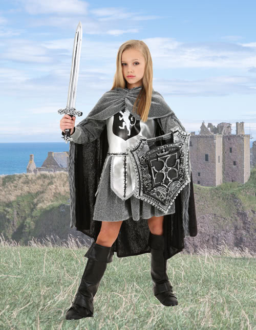 Girls Knight Costume