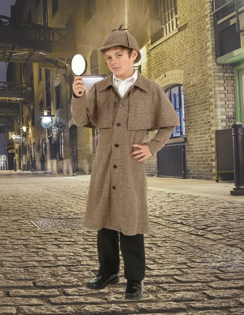 Boys Sherlock Costume