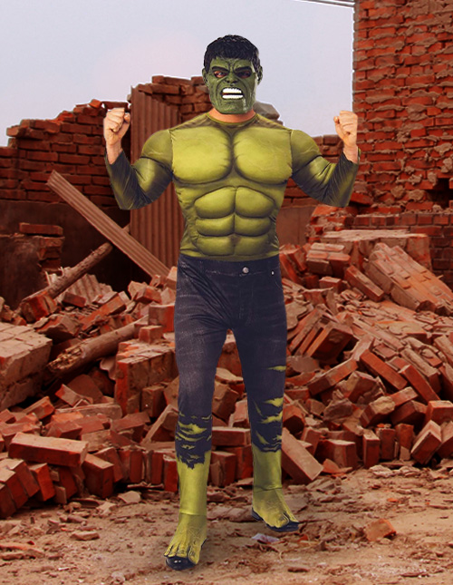 Hulk Costume Adult