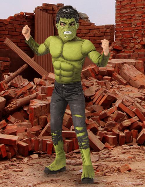 Hulk Costume Kids