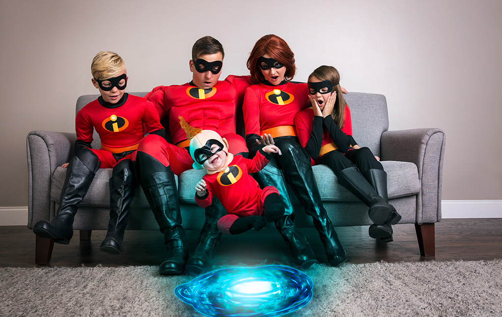 Jack-Jack Incredibles Family Costumes