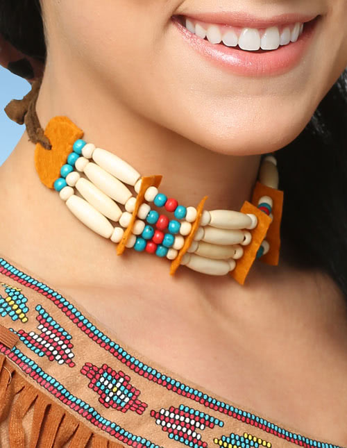 Native American Inspired Bead Necklace