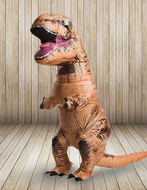 Inflatable T-Rex Costume Kid