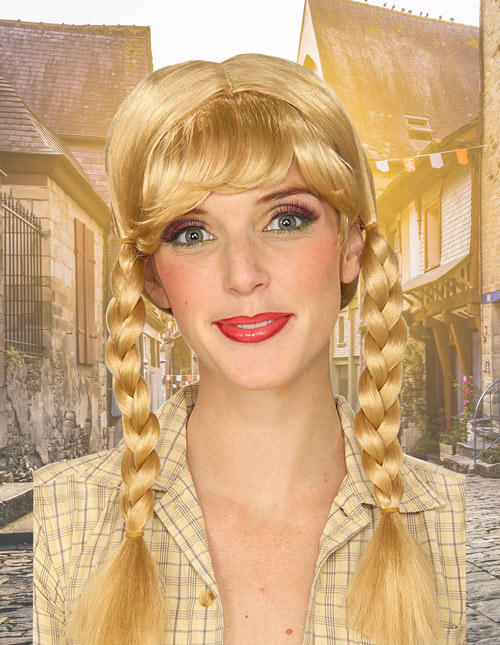 German Girl Wig