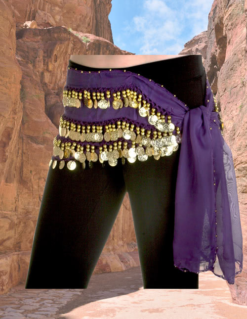 Belly Dancer Hip Scarf
