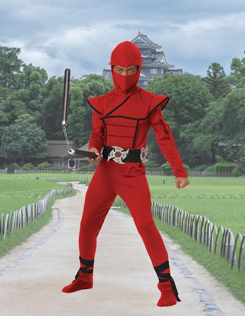 Red Ninja Costume