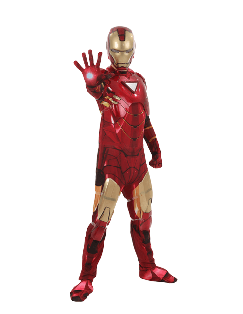 Hand Out Iron Man Pose