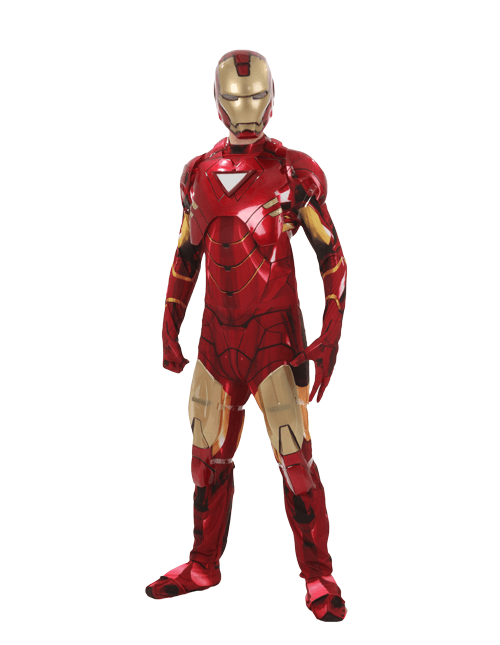 Stand Ready Iron Man Pose