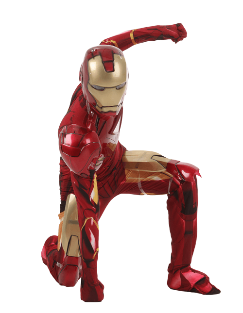 Strike Iron Man Pose