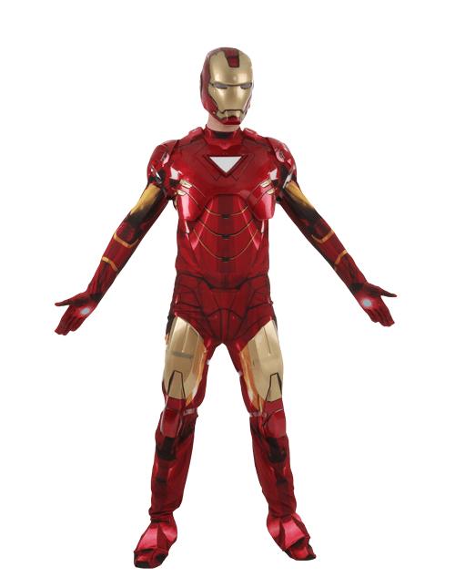 Flying Iron Man Pose