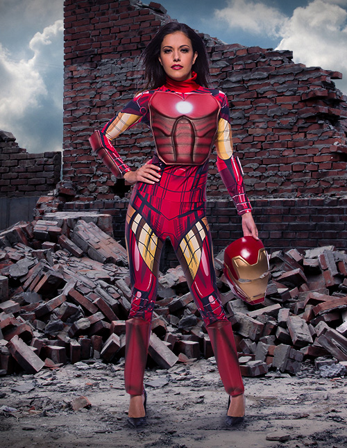 Female Iron Man Costume