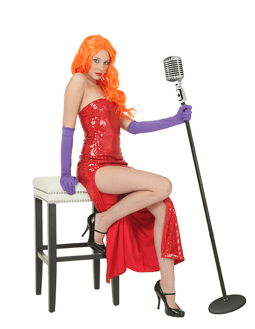 Jessica Rabbit Nightclub Singer Pose
