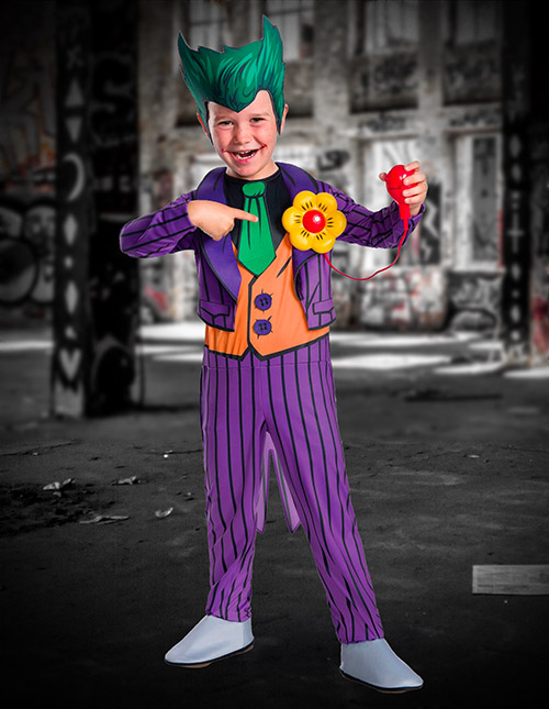 Animated Joker Costume