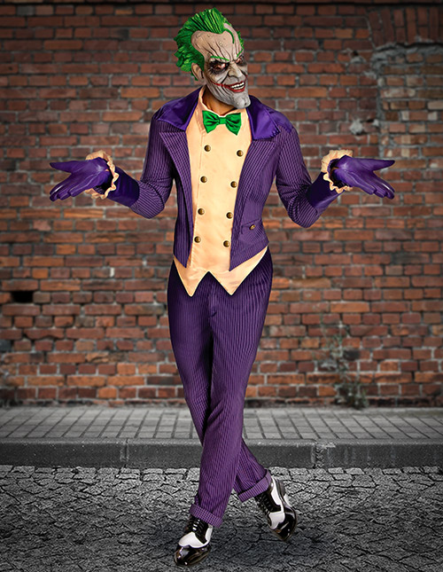 Batman Arkham City Joker Costume