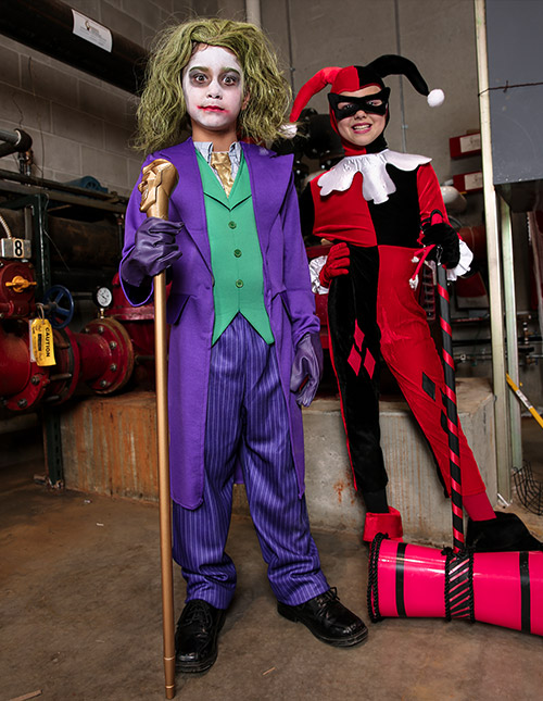 Boy and Girl Joker Costumes