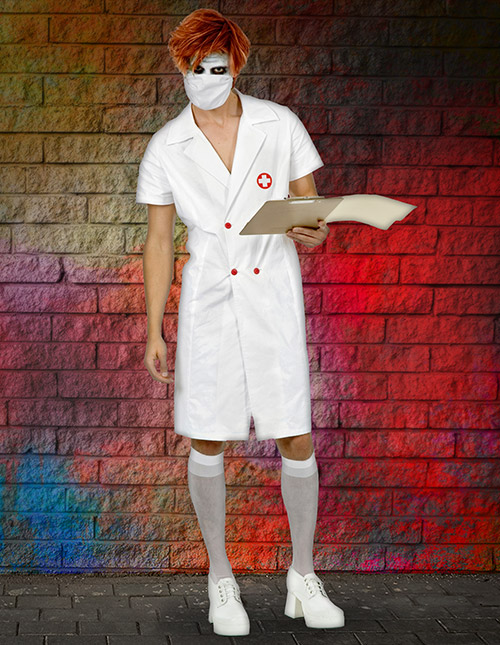 Joker Nurse Costume