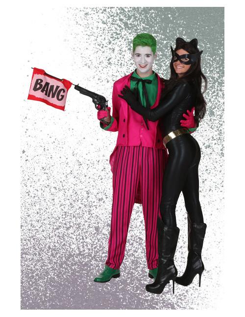 Joker and Catwomen Costumes