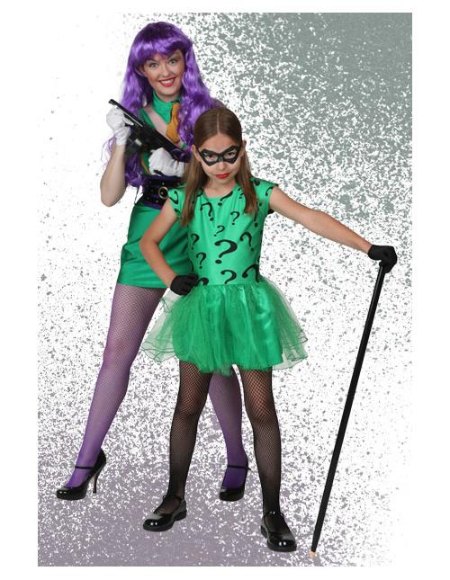 Joker and Riddler Costumes