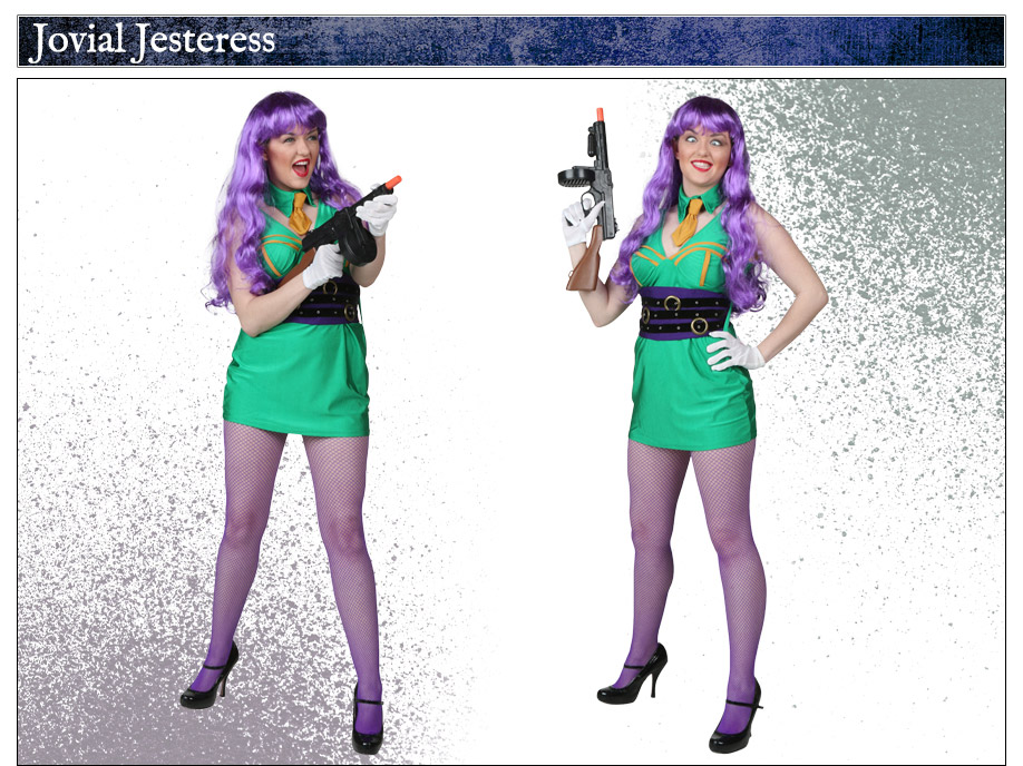 Adult Womens Joker Costume