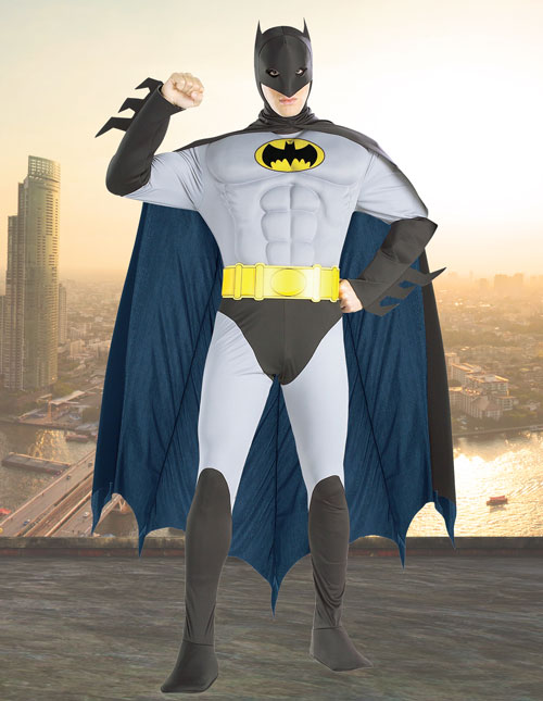 Classic Batman Muscle Costume