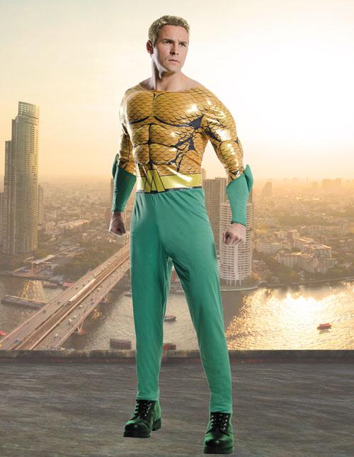 Classic Deluxe Aquaman Costume