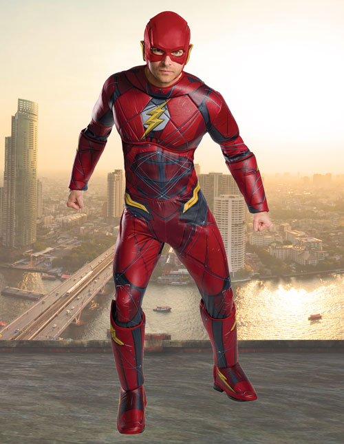 Adult Justice League Flash Costume