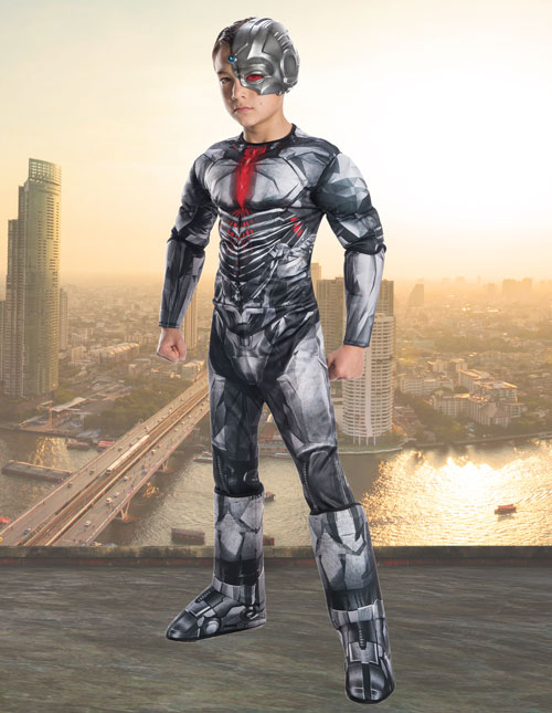 Child Deluxe Cyborg Costume