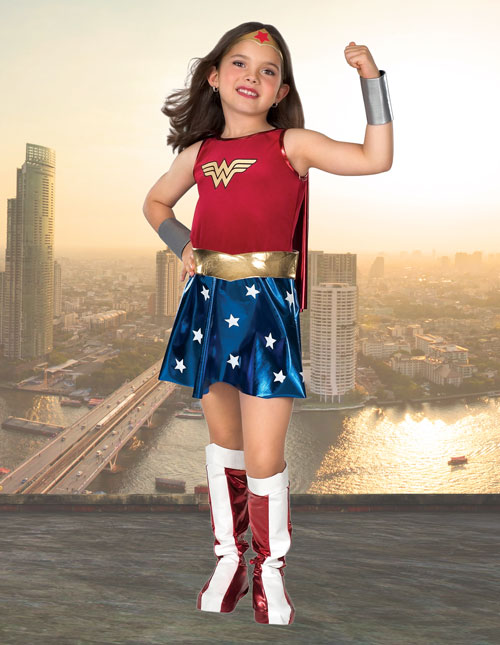 Kids' Wonder Woman Costume