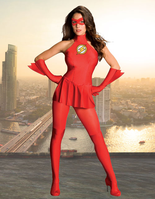 Women's Flash Costume