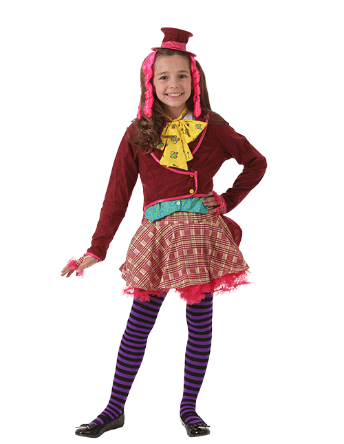 add leggings or tights to stay warm - Little Girls Halloween Costume Ideas