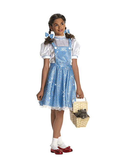 Girls' Sequin Dorothy Costume
