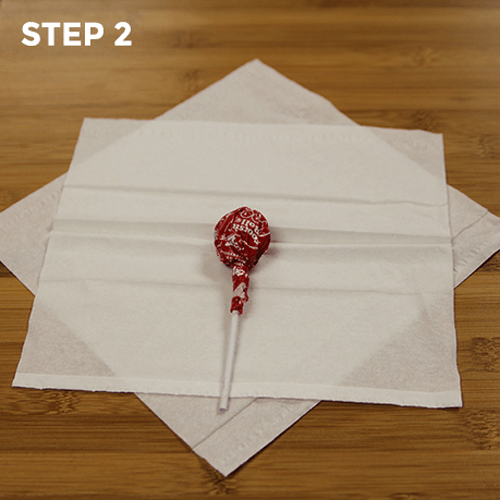 Lollipop Ghosts - Step 2