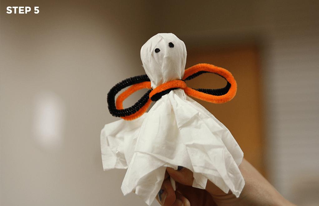 Lollipop Ghosts - Step 5