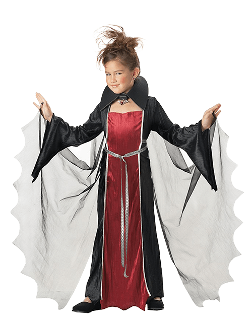 Girls' Vampiress Costume