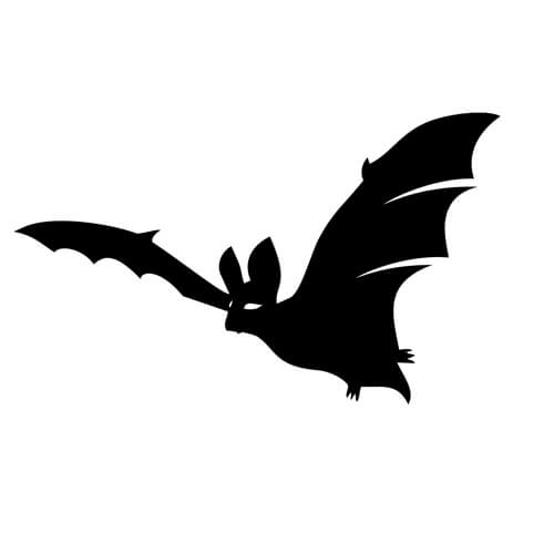Bat Silhouette Printable