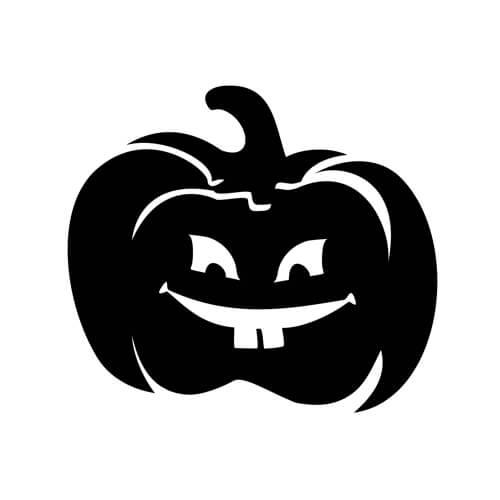 Pumpkin Silhouette Printable
