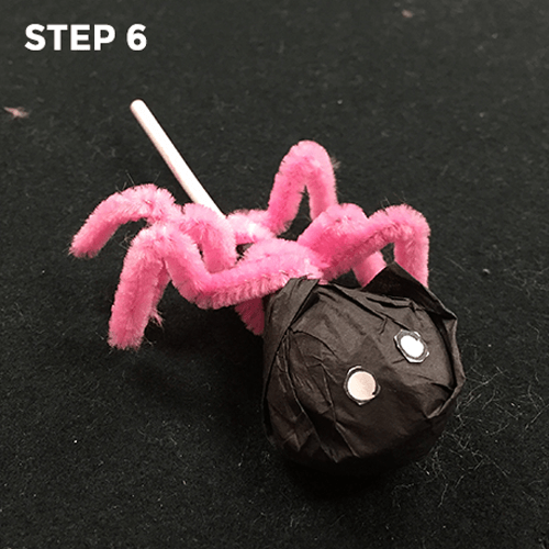 Sugar Spiders - Step 6