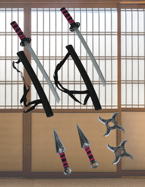 Ninja Weapons Kit