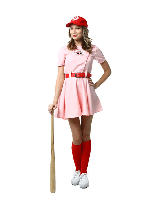 Toddler A League of Their Own Dottie Costume  |A League Of Their Own Costume